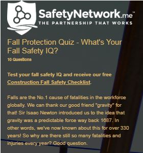 Fall Protection Quiz: Test Your Fall Safety IQ