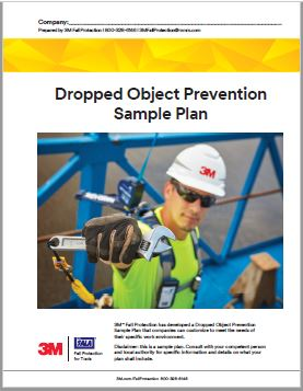 3M Dropped Object Prevention Sample Plan