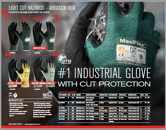 PIP Cut Protection Catalog